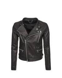 Sly 010 Leather Jacket Black