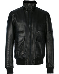 Standing collar biker jacket medium 4471977
