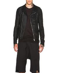 Rick Owens Stooges Biker Leather Jacket