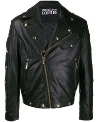 VERSACE JEANS COUTURE Studded Moto Jacket