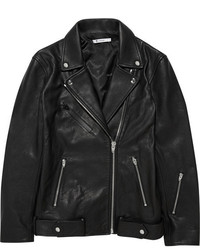 Alexander Wang T By Oversized Leather Biker Jacket