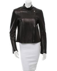 The Row Leather Biker Jacket