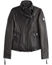 True Religion Leather Biker Jacket