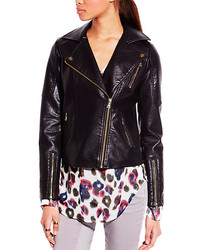 Vince Camuto Two By Quilted Detail Moto Jacket