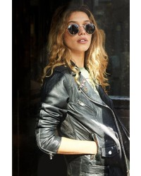 Urban Outfitters Urban Renewal Pelechecoco Leather Moto Jacket