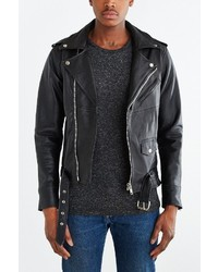 Urban Renewal Pelechecoco Leather Biker Jacket