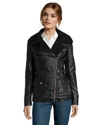 Point Zero Vegan Leather Jacket