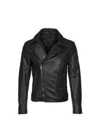 Ventcouvert Kai Leather Jacket Black