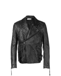 Faith Connexion Vintage Style Biker Jacket