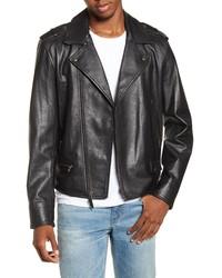 BP. X Alex Costa Leather Moto Jacket