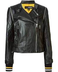 DKNY X Cara Delevingne Cara X Biker Jacket