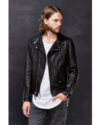 Schott X Uo Pebbled Leather Perfecto Jacket