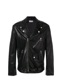 Faith Connexion Zipped Biker Jacket