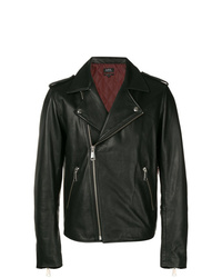 A.P.C. Zipped Leather Jacket