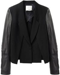 3.1 Phillip Lim Biker Sleeve Cross Front Jacket