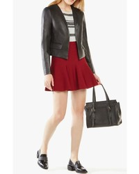 BCBGMAXAZRIA Bcbg Max Azria Cruz Faux Leather Blazer