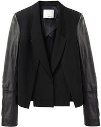 3.1 Phillip Lim Biker Sleeve Cross Front Jacket