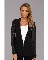 DKNY C Long Sleeve Shawl Collar Blazer