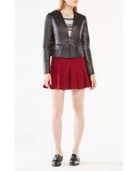 BCBGMAXAZRIA Cruz Faux Leather Blazer