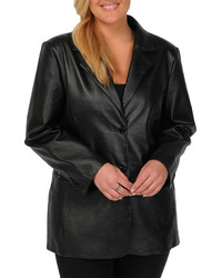 jcpenney Excelled Leather Excelled Nappa Leather 2 Button Blazer