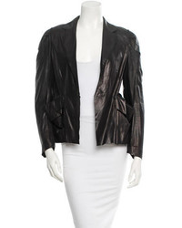 Marni Leather Blazer