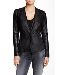 Muu Baa Muubaa Shaula Genuine Leather Blazer