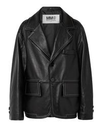 MM6 MAISON MARGIELA Oversized Leather Jacket