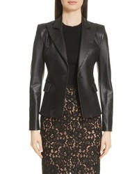 Michael Kors Plonge Leather Jacket