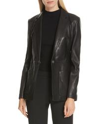 BOSS Sanewton Leather Jacket