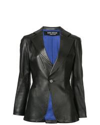 Junya Watanabe Comme Des Garçons Vintage Slim Fit Leather Blazer