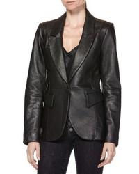 Paige Yesenia Leather Blazer