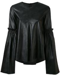 MM6 MAISON MARGIELA Faux Leather Top