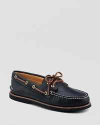Sperry Boat Shoes Gold Ao 2 Eye Lace Up
