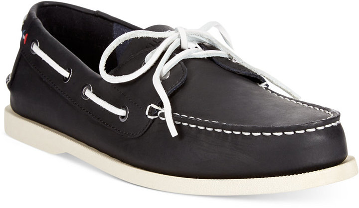 006164bccbf Tommy Hilfiger Bowman Boat Shoes Shoes, $70 | Macy's | Lookastic.com