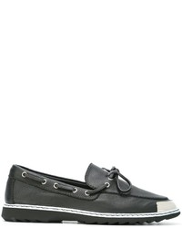 Giuseppe Zanotti Design Toe Cap Boat Shoes