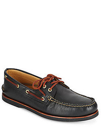 Sperry Gold Ao Leather Boat Shoes