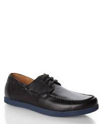 Joseph Abboud Black Boyd I Boat Shoes