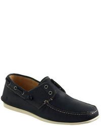 John Varvatos Usa Schooner Leather Boat Shoes