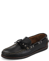 Eastland Yarmouth Usa Leather Boat Shoe Black