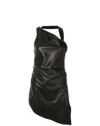 Saint Laurent Asymmetric Fitted Dress