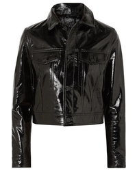 Ksubi A2b Textured Patent Leather Jacket