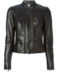 Alexander McQueen Fitted Biker Jacket