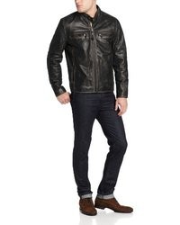 Andrew Marc Marc New York By Ryder Leather Jacket