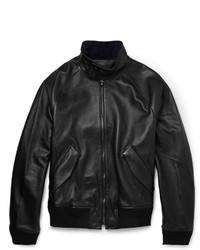 Acne Studios Ashton Leather Bomber Jacket