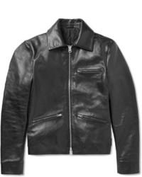 Acne Studios August Leather Biker Jacket
