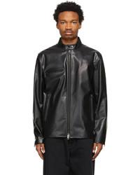 Acne Studios Black Leather Jacket