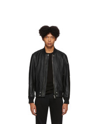 Diesel Black Leather L Jospeh Jacket