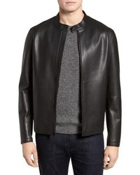 Cole Haan Bonded Leather Jacket