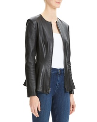 Theory Brist Movet Leather Jacket