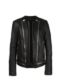 Balmain Bubble Leather Jacket